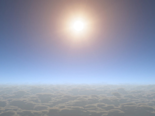 Because no clouds blocked the view, scientists were able to observe water vapor on a Neptune-sized planet for the first time. The smaller the planet, the more difficult it is to observe its atmosphere, and other small planets have been obscured by clouds. The upper atmosphere of HAT-P-11b appears nearly cloud-free, as shown in this artist's depiction. Credit: NASA/JPL-Caltech